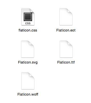 Manual de fuentes de iconos, parte 3